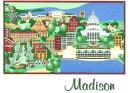 madison mosaic card