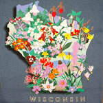 WI wildflowers shirt