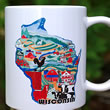 mug DS-003 WI Country Sampler 7101